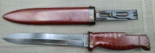 Interarmco (Eickhorn Solingen) 1958 Sudan AR-10 Bayonet & Scabbard (SG-42)  MINT