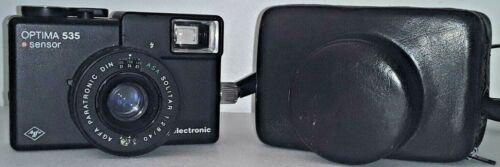 ******** 1976 Agfa Optima 535 Electronic Sensor 35mm Film Viewfinder Camera Case