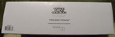 Dept 56 Dickens Village HOLIDAY COACH #55611 Accessory