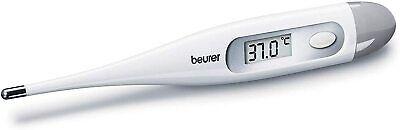 Beurer Termometro Digital Corporal, Resiste Agua, LCD, sin mercurio ni cristal