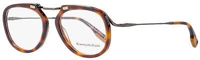 Ermenegildo Zegna Oval Eyeglasses EZ5124 052 Dark Havana 50mm 5124