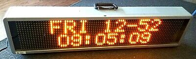 Led Sign Programable Industrial Commercial Use 9.25x40 Signtronix