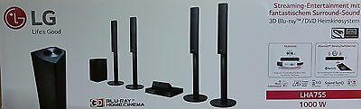LG LHA755 5.1 3D Blu-ray Heimkinosystem, 1000W, DLNA, Bluetooth (B5567-2/RG)