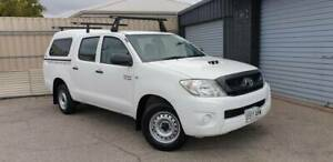 2010 Toyota Hilux SR Manual Ute Holden Hill Tea Tree Gully Area Preview
