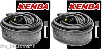 2Pak Kenda 700 x 35-42c Schrader Valve Hybrid Touring Bike Bicycle Inner Tube