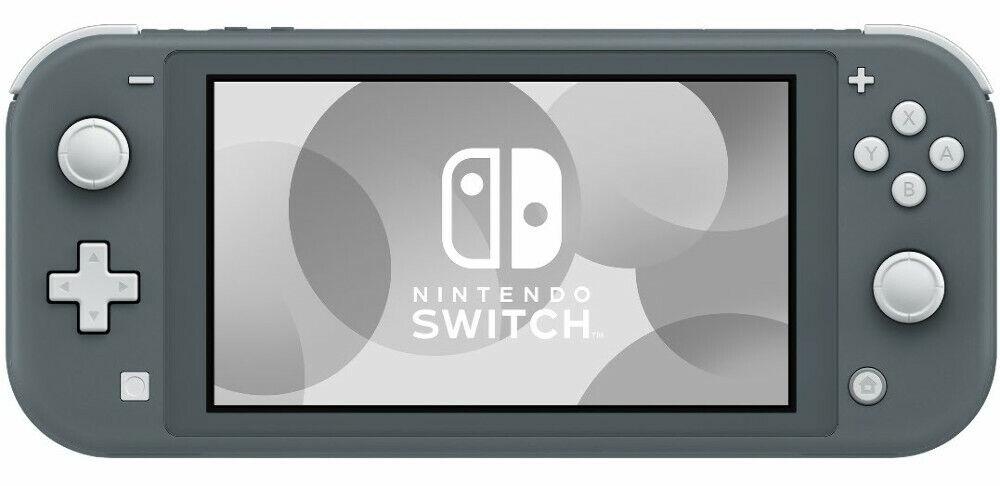 NINTENDO Switch Lite grau Spielkonsole -NEU -OVP-