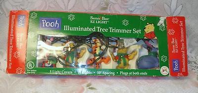 Vintage Santas Best Disney Winnie Pooh Xmas Tree Light
