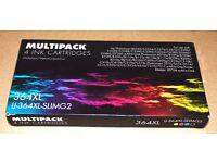 Multipack 4 Ink Cartridges 364XL IJ-364XL-SLIMG2 Compatible on Hp