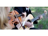 Folk duo (violin, guitar) - available for charity events and private functions