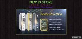 Vaporesso Tarot pro 160watt mod with 2x 18650 batteries