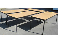 Tables 6ftx2ft in lightweight steel frame heavy duty top,wedding/ car boot, banquet, stalls