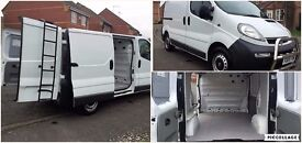 *_*_* 2005 VAUXHALL VIVARO 2900 1.9 DI SWB WHITE VAN TWIN SIDE DOOR PX WELCOME