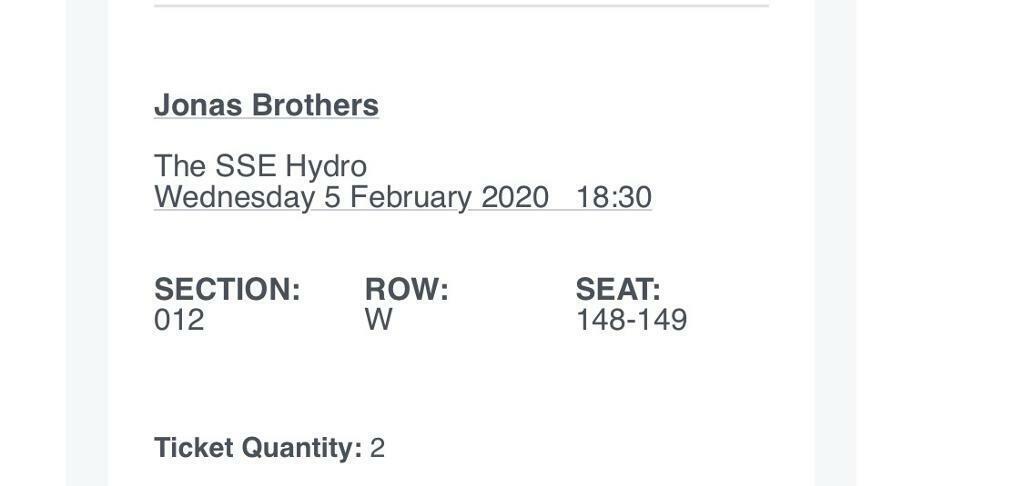 jonas brother tour dates 2020