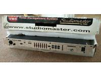 Studiomaster VMS - Vocal Management System Signal Processor