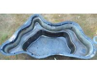 Pond lining, used, good condition, only some sun damage which could be covered by water/ plants