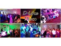 D-LITES DISCO WEDDING DISCO/DJ