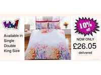 10% OFF NOW ONLY Bedding Sets BNIB