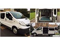 *_*_* 2007 VAUXHALL VIVARO 2700 2.5 CDTI SWB 4 x Seater CREW CAB VAN PX WELCOME *_*_*