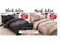 Satin Bedding 10% OFF LIMITED TIME ONLY - selling fast!!!!