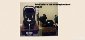 Britax Isofix Car Seat including Isofix Base