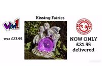 10% OFF Solar Kissing Fairies - SALE ENDS 29.05.2017 brand new