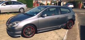 Honda Civic type R ep3 120k miles on the clock, full service history very clean car!