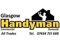 Glasgow Handyman Service Covering All Glasgow. Mobile 07434 751688