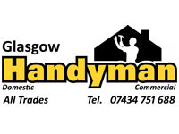 Glasgow Handyman - multi skilled with 30+ years experience Call 07434 751688
