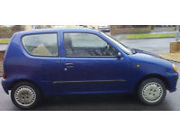 Fiat Seicento with Carony wheelchair adaption