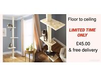 FREE DELIVERY Floor to Ceiling Cat Tree BRAND NEW