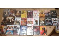 30 x DVD's and DVD player bundle set