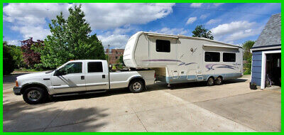 2000 National Sea Breeze 30' Fifth Wheel Slide Out Awning ...