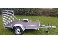NEW TRAILER QUAD, MOWER, GOLF BUGGY TRAILER / TRANSPORTER 8,2 X 4.10 RAMP only 770 inc vat
