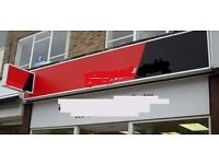 Shop Sign Light Box / For Retail Shop or Business