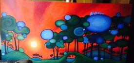 Original artists painting