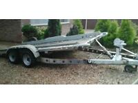 "BRIAN JAMES TWIN AXLE TILT BED RECOVERY TRAILER (14'X6'3"" BED) WINCH"
