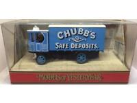 Matchbox Models of Yesteryear Y37 1929 Garrett Steam Wagon Chubbs Safe Deposits