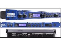 Lexicon MX 400 Multi FX Unit. Incuding the worlds best revers and delays.