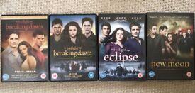 Full set of 'Twilight Saga' films on DVD