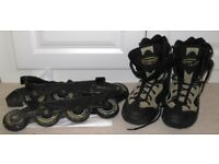 "Hypno Inline Skates (""Rollerblades"") for women, UK size 6"
