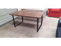 Rustic Handmade Dining Table