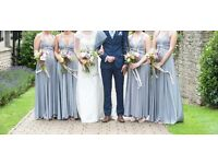 Twobirds Bridemaids dress - Platinum Grey x4