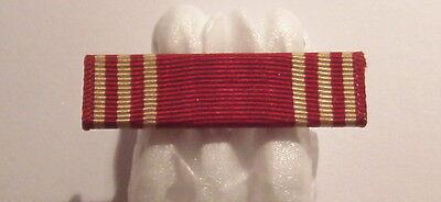 VINTAGE WW II U.S. Army Good Conduct Medal Pin Back Ribbon Bar