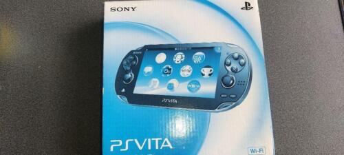 PlayStation+PS+Vita+Wi-Fi+Console+Crystal+Black+PCH-1000+ZA01+Console+JP+NEW
