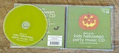 Children's Halloween Music Cd (Kids Halloween Party Music CD Boo & Co Songs Stories &)