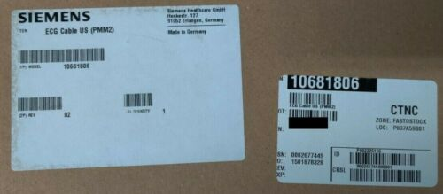 Siemens ECG cable for PPM2, US edition 10681806