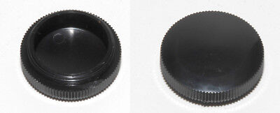 Lot Of 3 - New Olympus Ab122000 Dust-plug For M26x0.75 Objective Turret Holes 36
