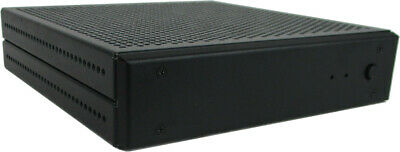 Mini-PC lüfterlos, Ultra-flach, Intel J1900 4x 2.4 GHz, 8GB, 240GB SSD, lautlos