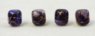 Sea Sediment Jasper Purple Tie Tack 8 MM x 9 MM VERY COOL!!