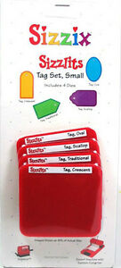 Sizzix Sizzlits 4-pack small tags set - $10